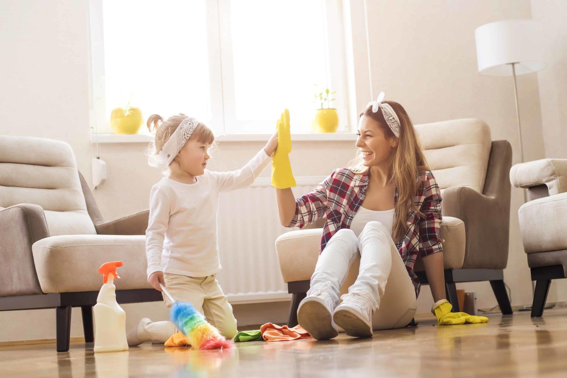 Wohnung richtig reinigen: nützliche tipps